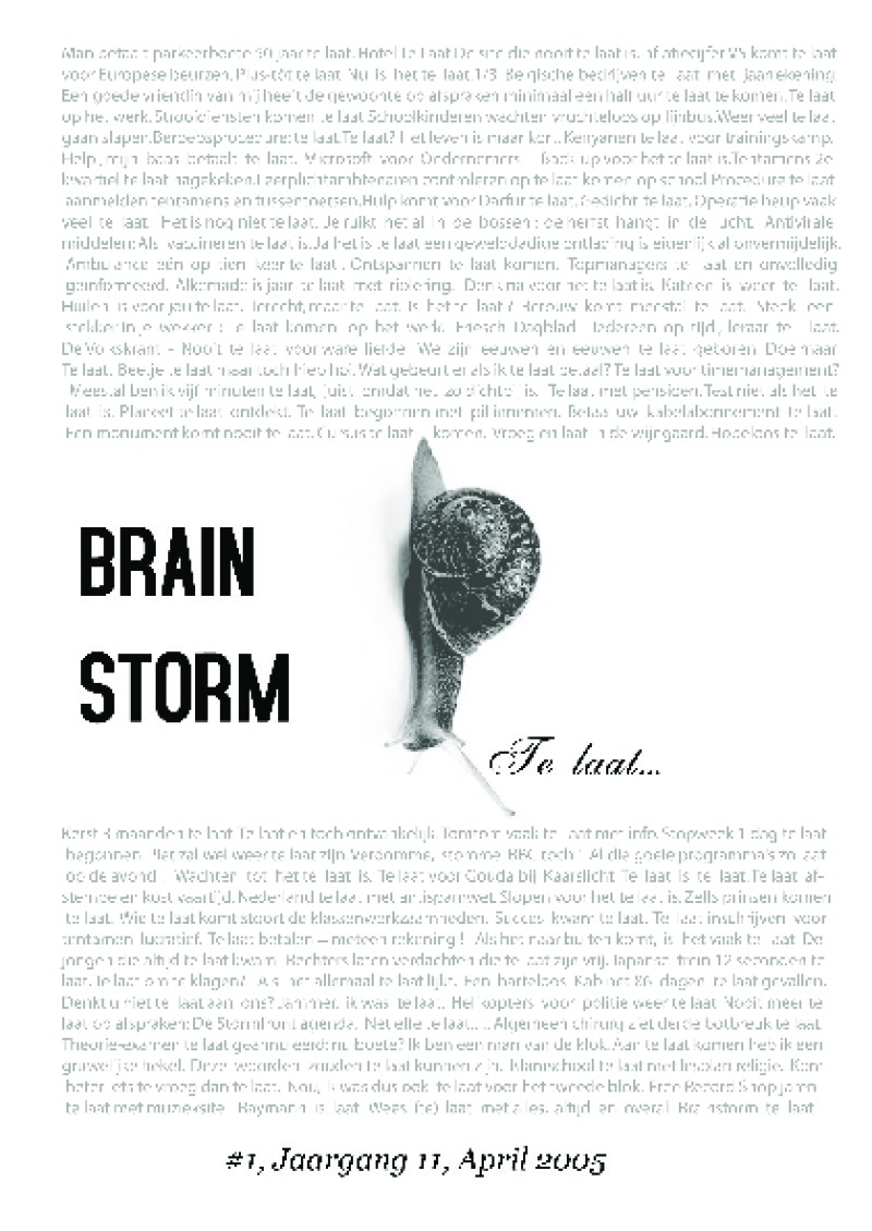 First page of 2005_april_Brainstorm